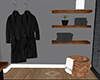Robes and shelve