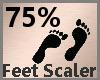 Feet Scaler 75% F