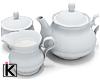 |K  Vintage Tea Set