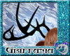 Deer Antlers Black