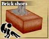 [Hie] Brick shoes