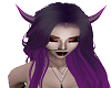 Purple Demon Horns J