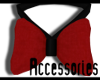TB| Black & Red Bow Tie