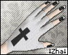 |Z| Cross Gloves +Nails