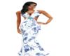 long summer dress (blue)