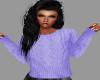 [BRI]Cozy Sweater Purple