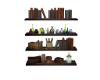 Wizards shelves