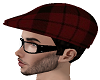 Tartan Flat cap scally