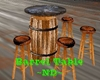 Barrel Table ~ND