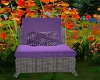 FD5 Wicker Purple Chair