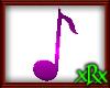 Music Note 1 Purple