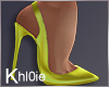 K Yellow Heels