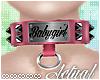 ☯ Babygirl Collar