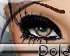 <Dole>GlitterLashesBlack