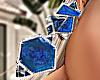 Wild Earrings Blue