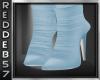 Baby Blue Designer Boot