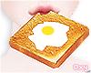 ♡ eggy toast