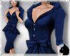!Sash Suit Navy blue
