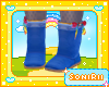 KID BLUE WINTER BOOTS