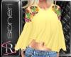 Maria yellow blouse