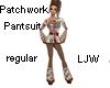 LJW Patchwork Pantsuit R
