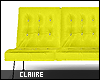 C|Neon Yellow Couch