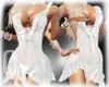 QA White Wedding  Dress