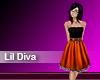 (M) Lil Diva Orange