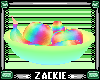 bowl of rainbow fruit