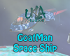GoatMan Space Ship