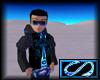 [S] Electro Jacket Blue