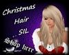Christmas Hair SIL