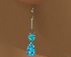Womans Turquoise Earring