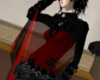 Arm Cape Red/Black