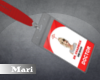 !M! Doctor Badge Mari