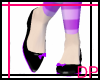 [DP] Black &Purple Flats