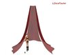 LXF Red curtains