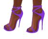 Reina Light Purple Heels
