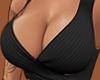Black boob crop