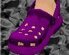 *CROCS Violet Shoes