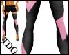 !TDG* Blk&Pink Leggings