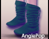 ♈ Snow Boots Green