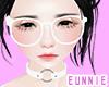 ᕮ Glasses White