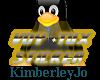 TUX Trek VOY StickerGold