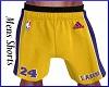 ~D~ Lakers Shorts