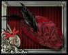 ~VictorianBustleHat-RED~