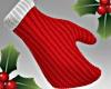 Xmas Red Santa Mittens