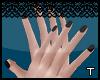 .t. Black nails~