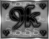 9k SUPPORT STICKER
