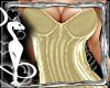 Corset Dress Golden